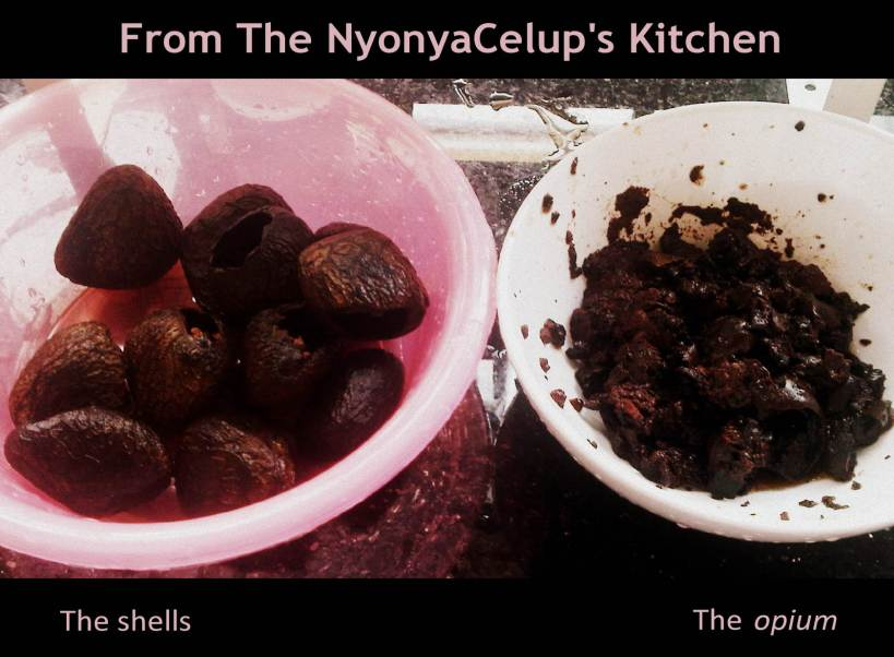 How to Prepare Buah Keluak - The NyonyaCelup