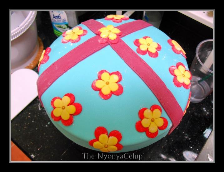 The NyonyaCelup's Birthday Cake