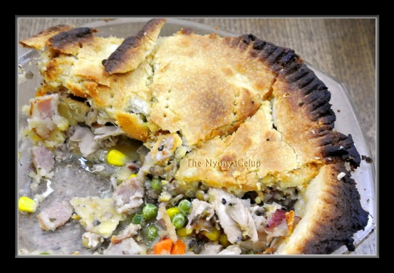 Chicken Bacon Mushroom Pie