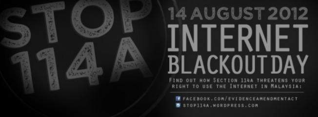 #Stop114a - 14.8.2012 Internet Blackout Day