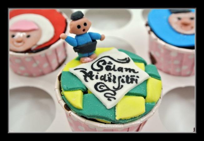 Hari Raya cupcakes