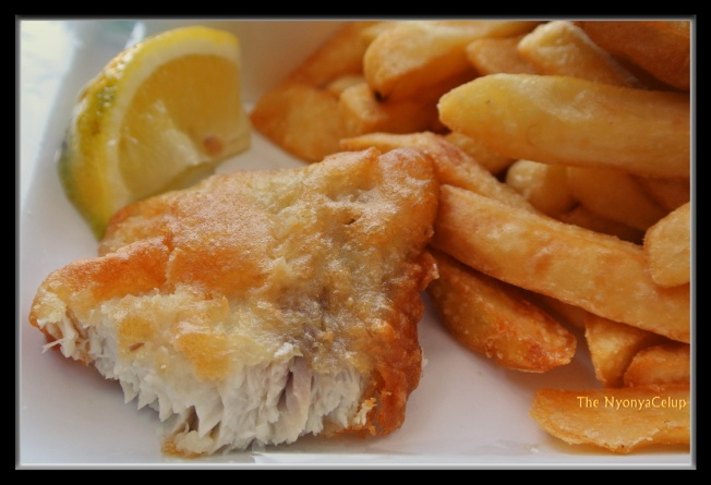 Fish & Chips @ Cicerello's